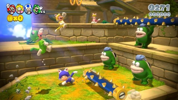 Neue Bilder zu Super Mario 3D World 2