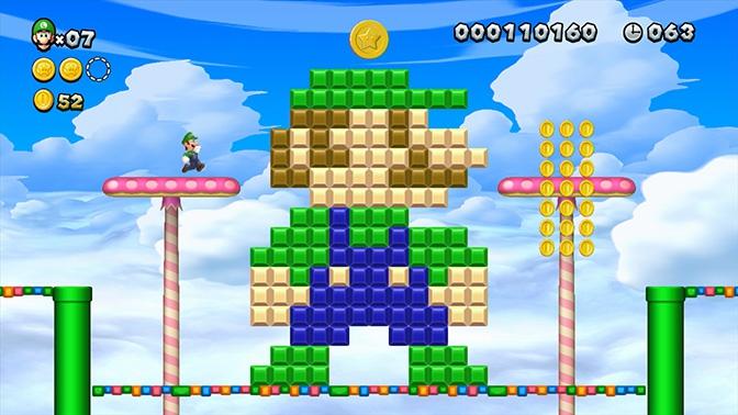 Pixel-Luigi