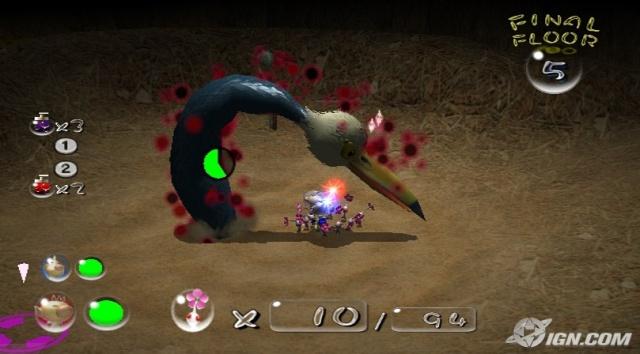 Bild zum Spiel Pikmin 2 - New Play Control