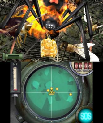 Panzer gegen Spinne