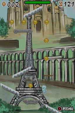 Rauf auf den Eiffelturm