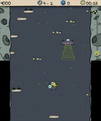 Nicht ins UFO springen