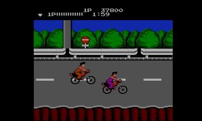 Ein Motorradrennen