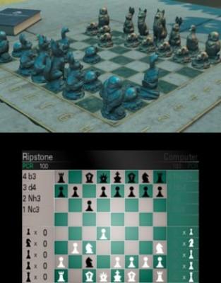 Grün/Grau Schach