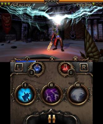 Der Gegner spricht einen Zauber