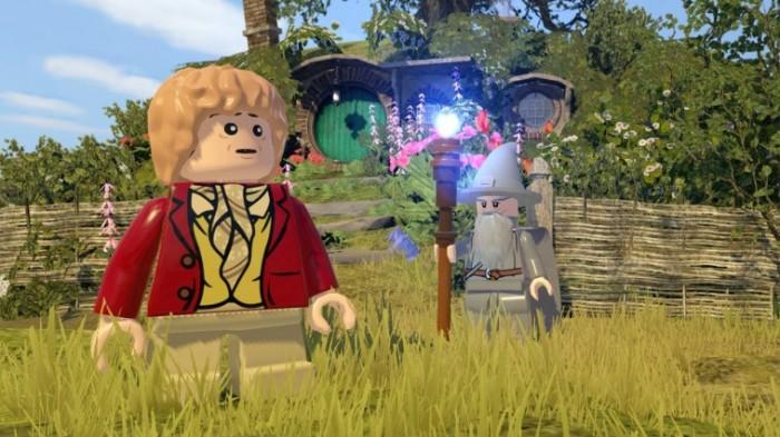 Bilbo und Gandalf