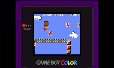Mario hüpft über Cheep-Cheeps