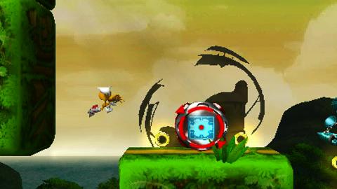 Tails fliegt