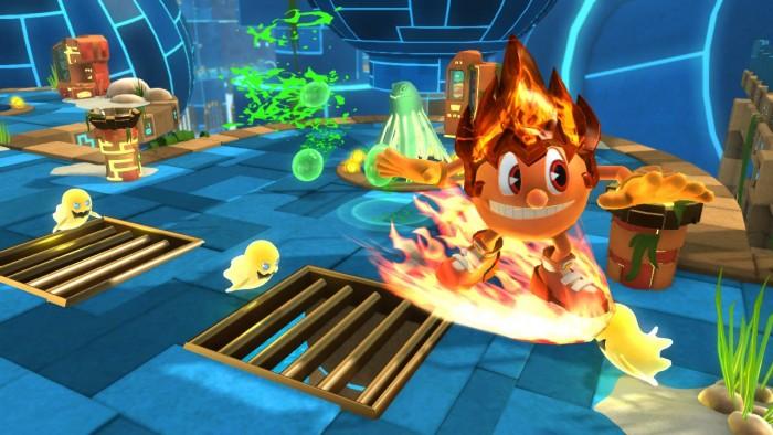 Feuer Pac-Man