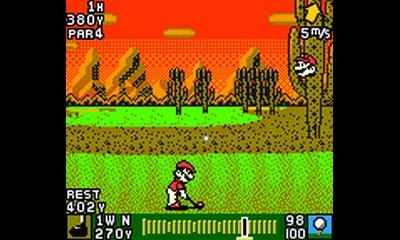 Mario spielt auch