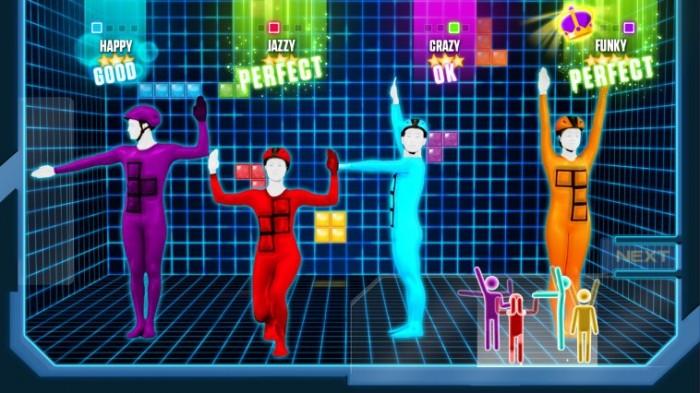 Tetris-Tanz