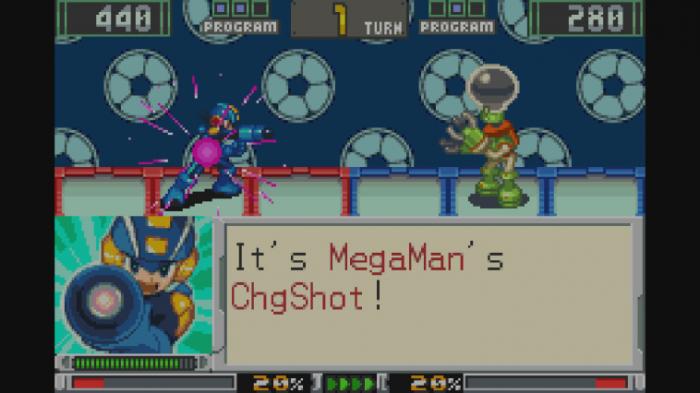 Mega Man greift an