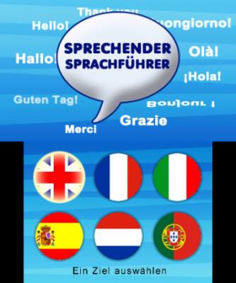 Sprachenauswahl
