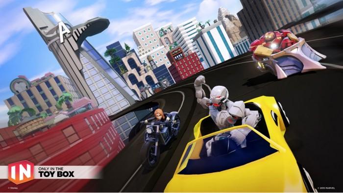 Disney Infinity 3.0 Marvel Speedway