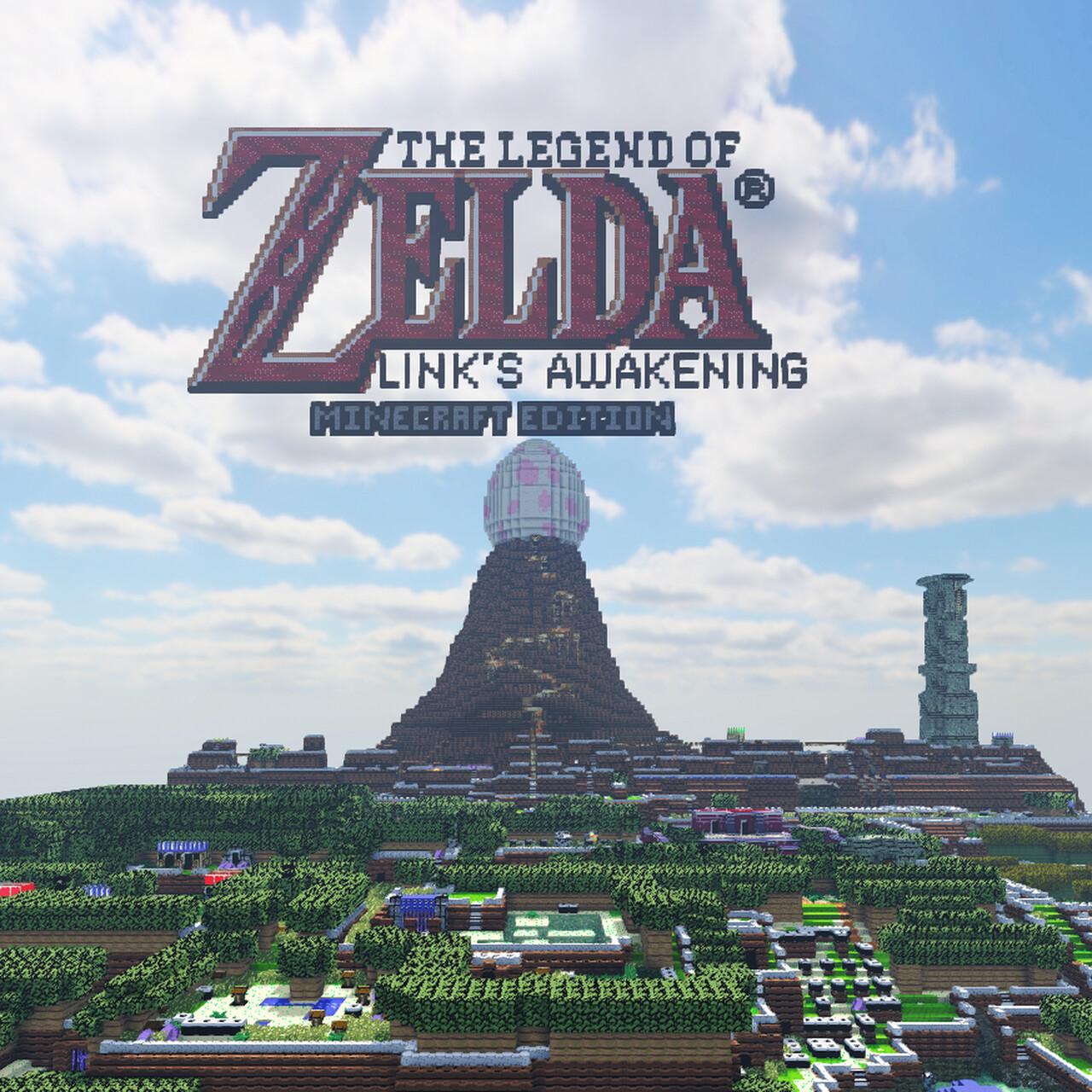 <div>Weckt den Windfisch ein weiteres Mal – Fans rekreieren The Legend of Zelda: Link's Awakening in Minecraft</div>