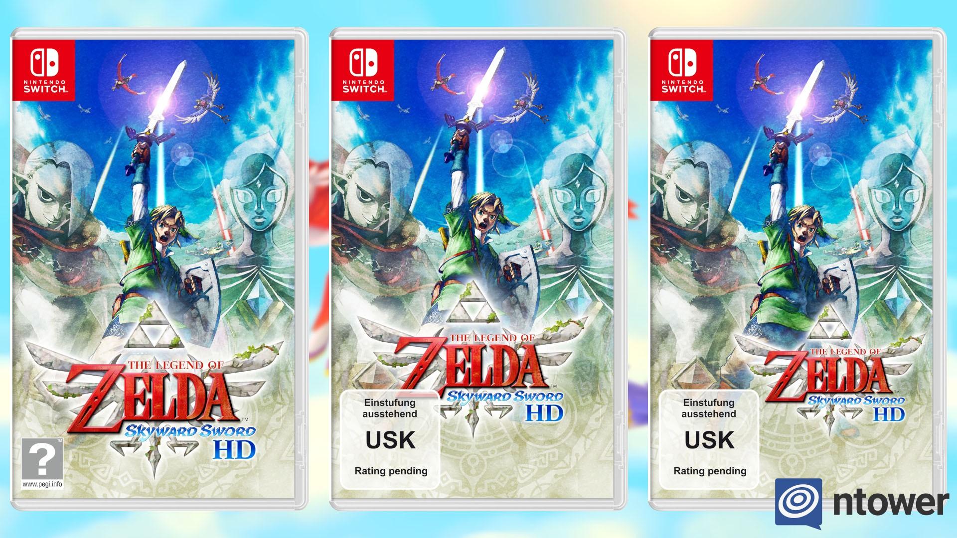 Da ist selbst Nintendo überfragt – USK-Kennzeichen erschwert Cover-Gestaltung von The Legend of Zelda: Skyward Sword HD