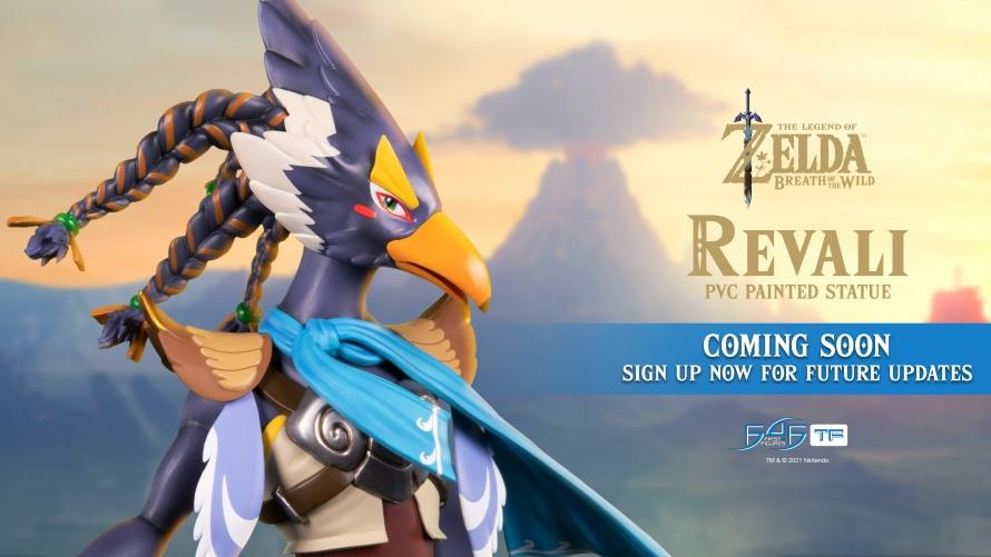 First 4 Figures enthüllt Revali aus The Legend of Zelda: Breath of the Wild als nächstes Projekt