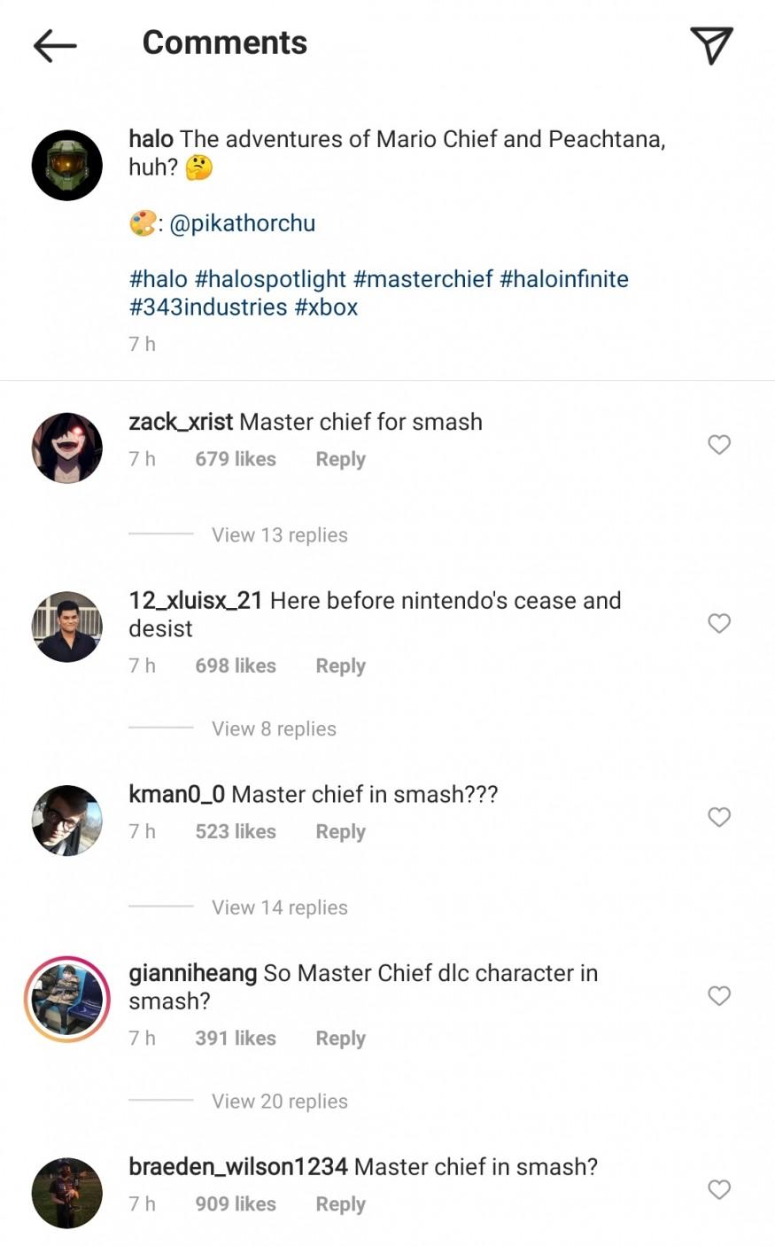 Offizieller Halo-Account teilt Crossover-Bild mit Super Mario