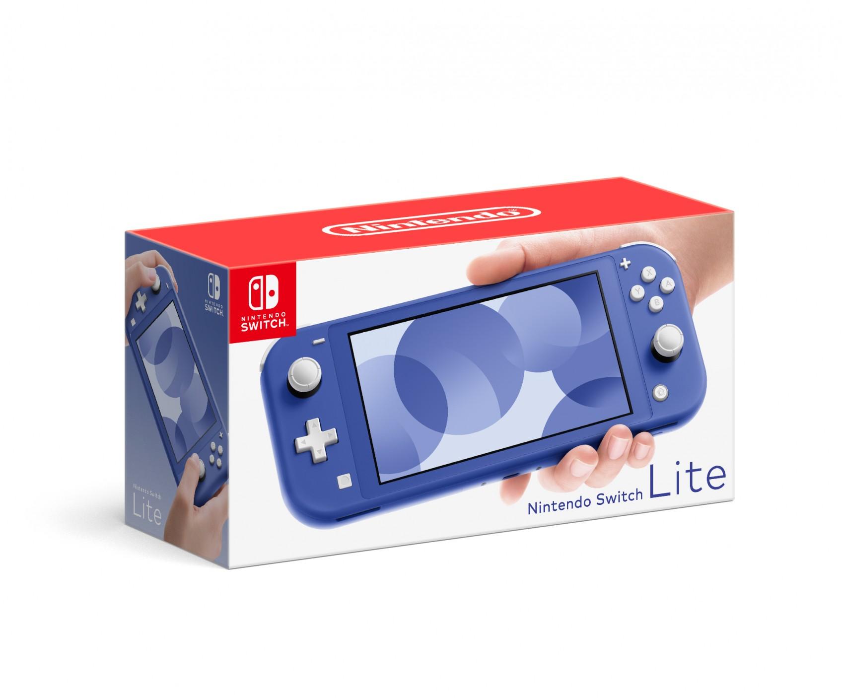 Blaue Nintendo Switch Lite erscheint im nächsten Monat