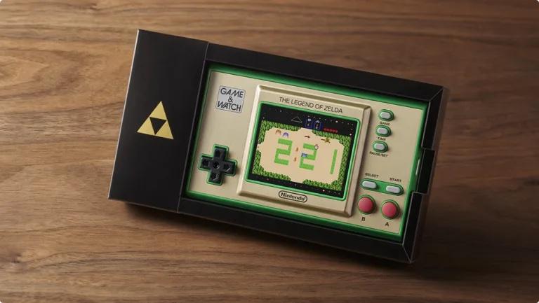 <div>Nintendo kündigt Game & Watch The Legend of Zelda für November an – Vier Zelda-Titel enthalten</div>