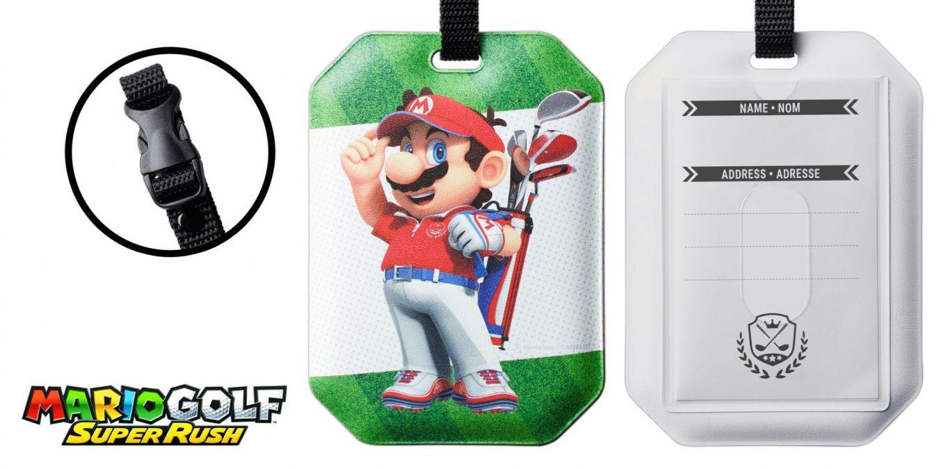 Mario Golf: Super Rush – Bestellt euch ab sofort einen Gepäckanhänger im My Nintendo Store