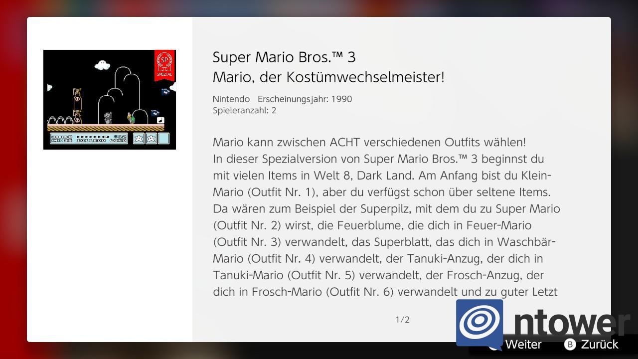 Zusätzlich zu weiteren SNES-Spielen – Auch die Nintendo Switch Online-Bibliothek für NES-Titel erhält neue Inhalte