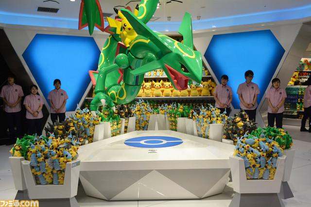 Das Pokemon Der Kategorie Himmelhoch Passt Naturlich Gut Zum Hohen Skytree Gebaude Nun Sind Einige Bilder Innenleben Des Neuen Centers