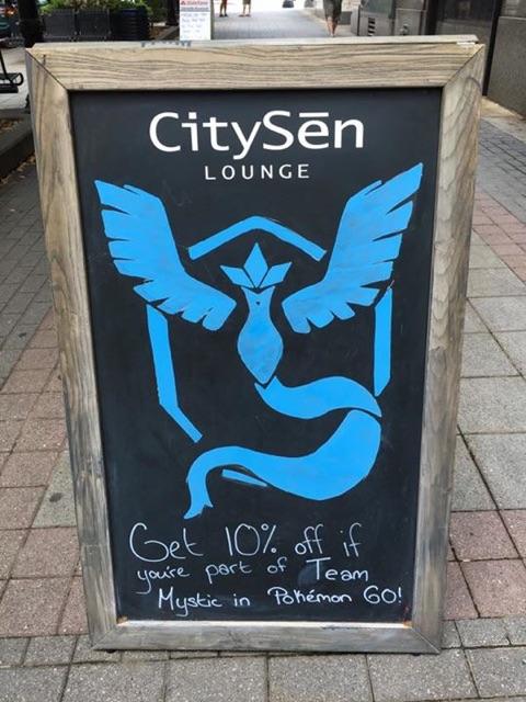 Pokemon Go Marketing CitySen
