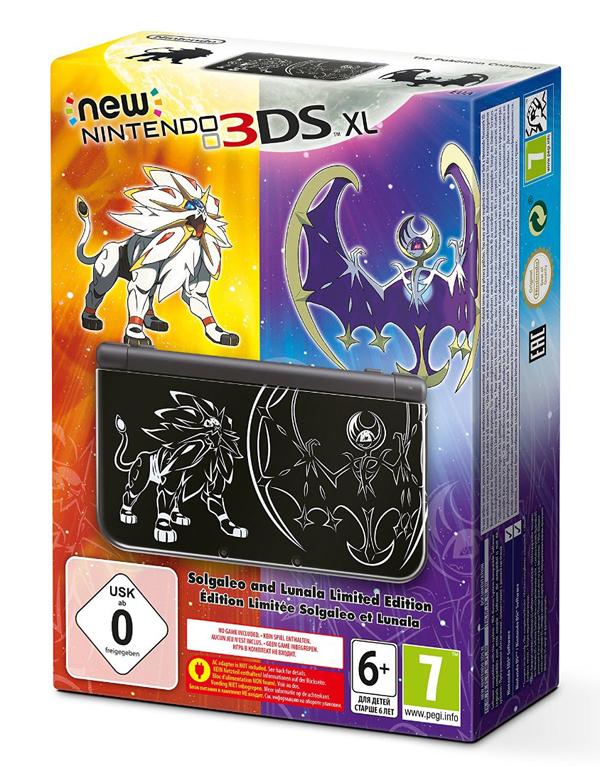 Jetzt Vorbestellen New Nintendo 3ds Xl Solgaleo Und Lunala Limited Edition Hardware Ntower