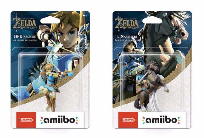 Hier Könnt Ihr Die Verpackungen Zweier Amiibo Von The Legend Of