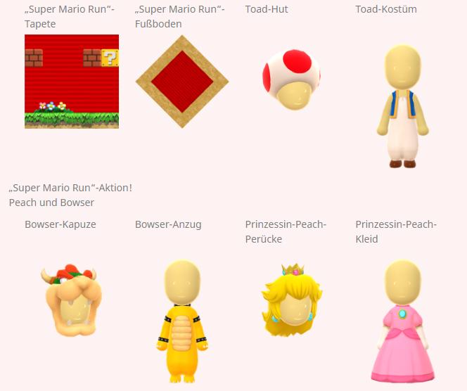 Nintendo veranstaltet Super Mario Run-Aktion in Miitomo ...
