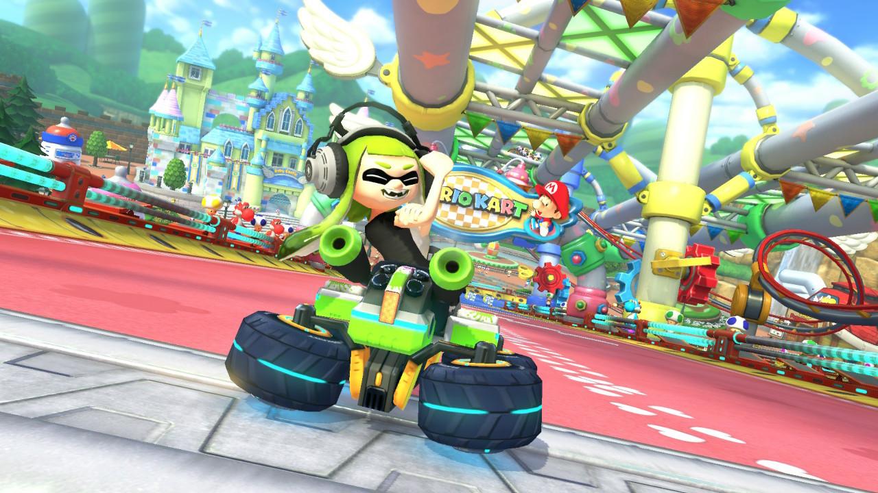 Mario Kart 8 Deluxe: Patch ändert übel beleidigende Geste