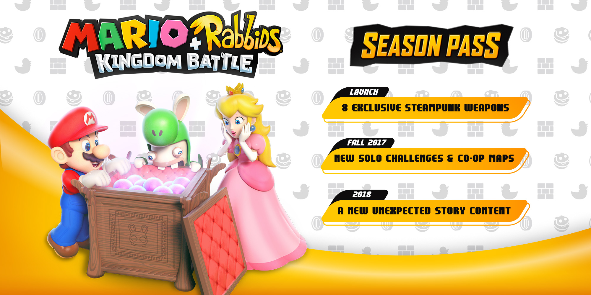 Season-Pass zu Mario + Rabbids: Kingdom Battle angekündigt