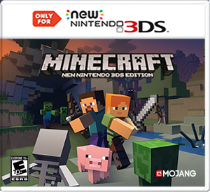 Cover Und Screenshots Zu Minecraft New Nintendo DS Edition - Minecraft spielen echt