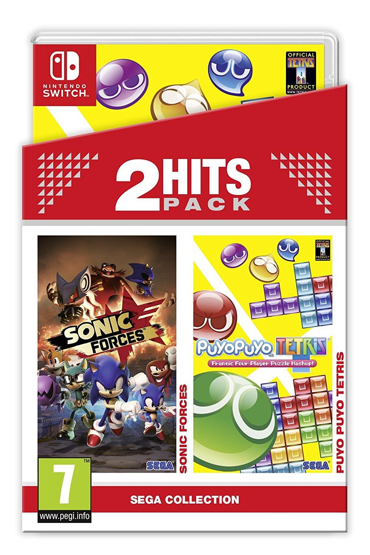 Bundle mit Sonic Forces und Puyo Puyo Tetris für die Nintendo Switch ...