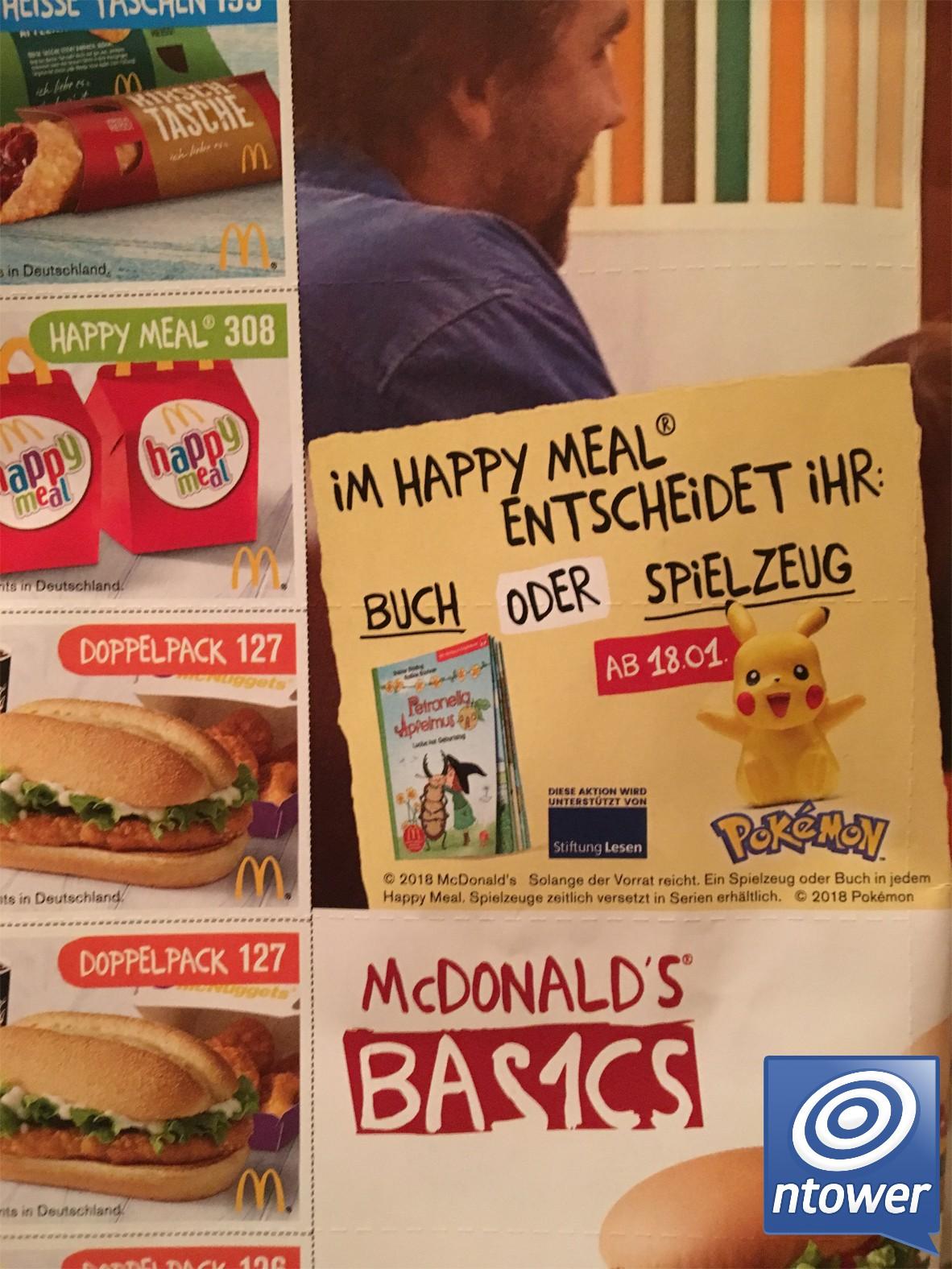 Mcdonalds Pokémon Spielfiguren Ab Dem 18 Januar Im Happy Meal Zu