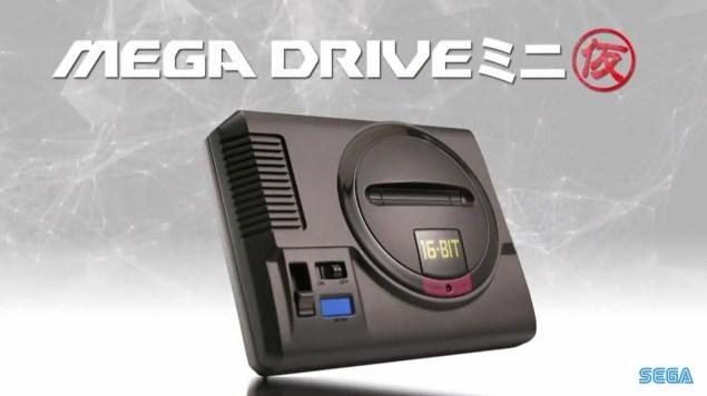 Sega kündigt Sega Mega Drive Mini an