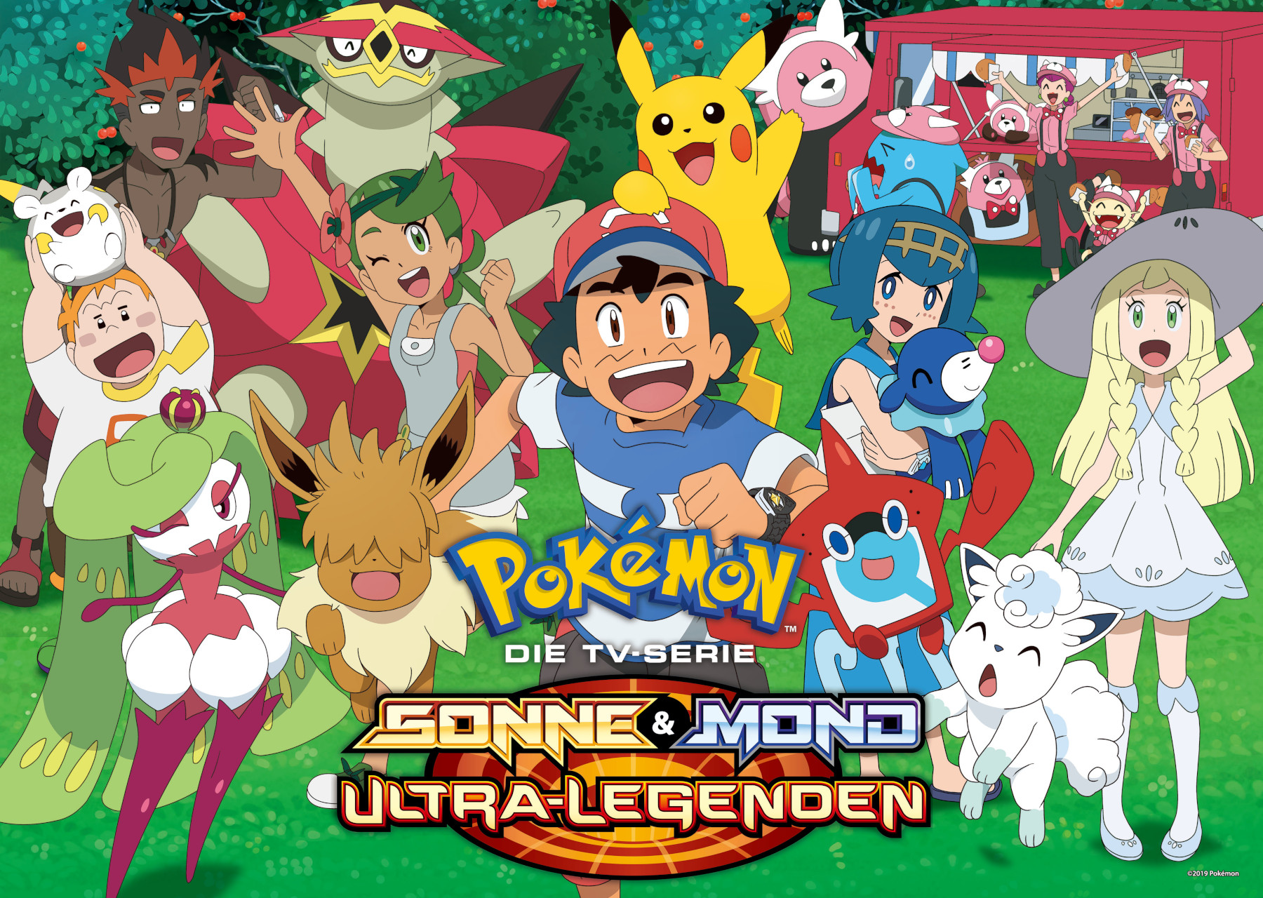 Pokemon kennenlernen