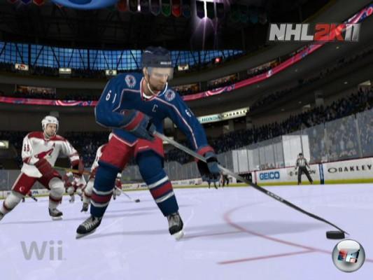 Bild zum Spiel NHL 2K11