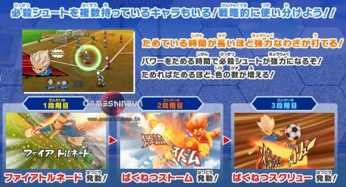 Inazuma Eleven Strikers Scan