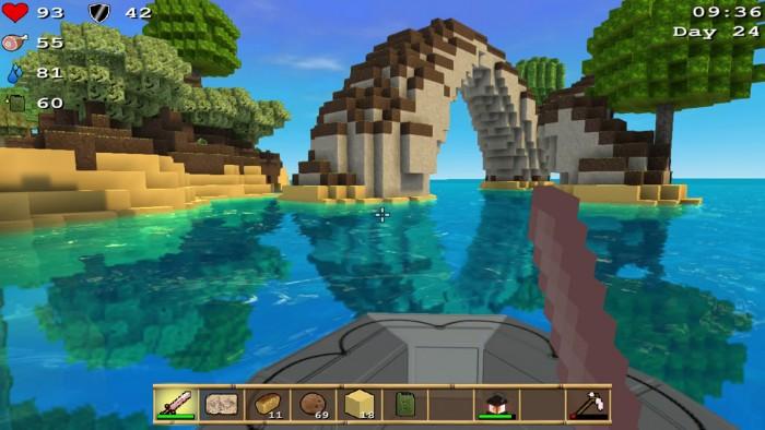 Screenshot vom Spiel Cube Life: Island Survival