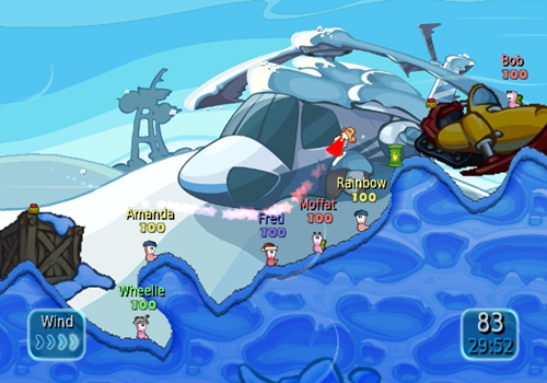 Bild zum Spiel Worms: Battle Islands