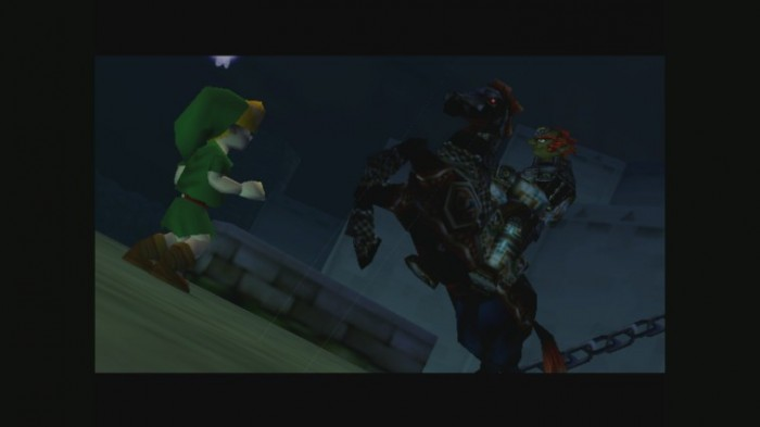 Link trifft auf Ganondorf