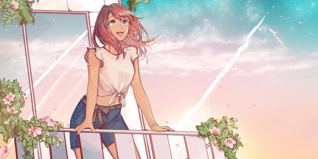 Newsbild zu Visual Novel Summer at the Edge of the Universe erscheint 2021 für Nintendo Switch