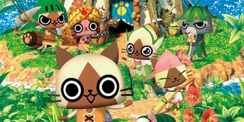 Newsbild zu Verrückte Werbespots zu Monster Hunter Diary: Poka Poka Airou Village DX veröffentlicht