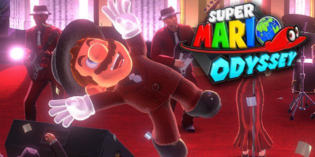 Newsbild zu Bunte Kreise – Neue Hinweis-Kunst für Super Mario Odyssey schickt euch wieder auf die Suche nach Pixel-Luigi