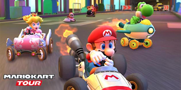 Newsbild zu Mario Kart Tour: Brandneue Inhalte sowie zurückkehrende Items und Karts vorgestellt