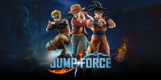 Newsbild zu Jump Force Deluxe Edition erscheint im August für Nintendo Switch