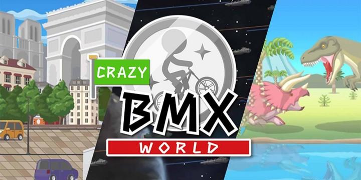 Newsbild zu Nintendo 3DS-Titel Bike Rider DX erscheint auf Nintendo Switch als Crazy BMX World