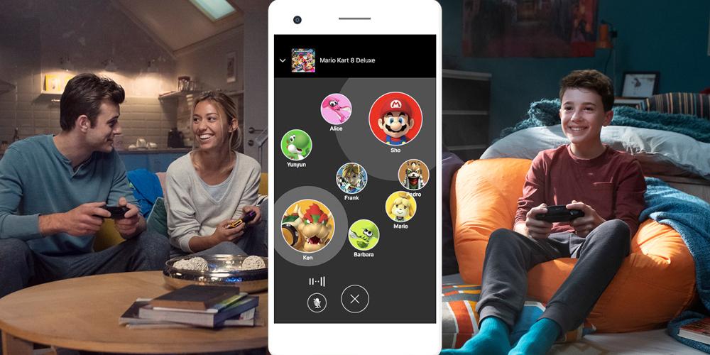 Voice-Chat Nintendo Switch Online App
